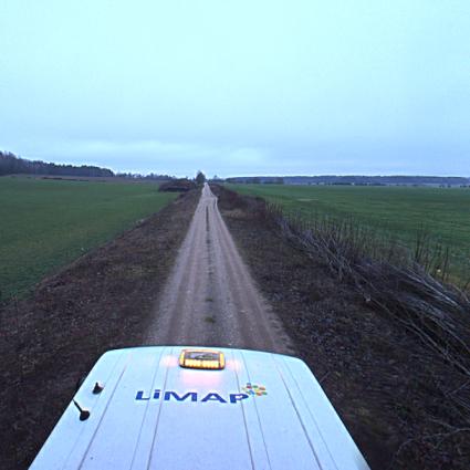 130 km Lithuania-Belarus Border LiDAR scan and survey